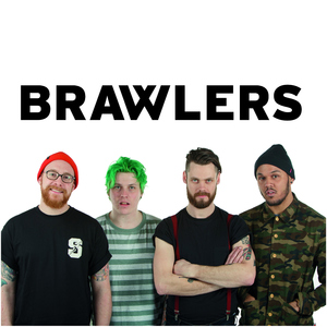 Brawlers - I Am A Worthless Piece Of Shit CD