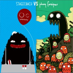 Johnny Foreigner & Stagecoach - Big Love In - Split Single 7