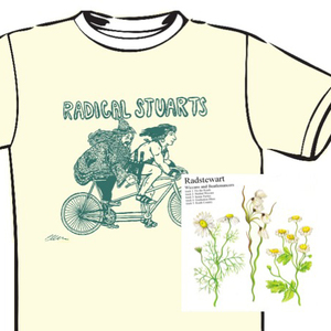 Rad Stewart - T-Shirt & CD Bundle
