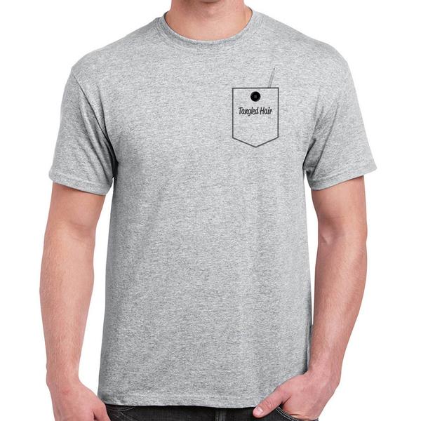 Tangled Hair - Pocket T-Shirt