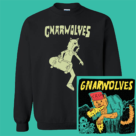 Gnarwolves CD & Sweatshirt Bundle