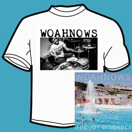 Woahnows - The Joy Disorder LP & T-Shirt Bundle