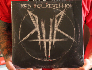 RED HOT REBELLION vinyl LP - $10