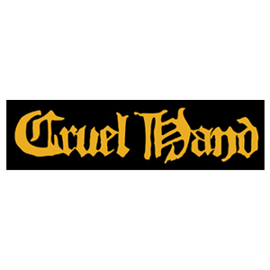 Cruel Hand 'Yellow Logo' Sticker
