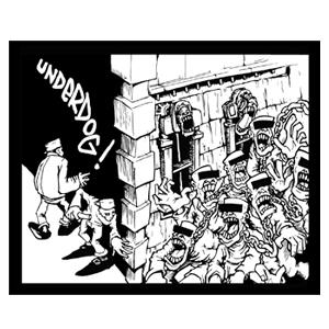 Underdog 'Self Titled EP' Sticker