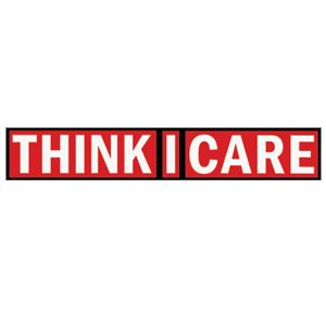 Think I Care 'Logo' Sticker