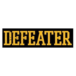 Defeater 'Yellow Logo' Sticker