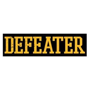 Defeater 'Yellow Logo' Sticker