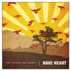 Have Heart 'The Things We Carry' Sticker