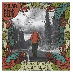 Polar Bear Club 'Clash Battle Guilt Pride' Sticker