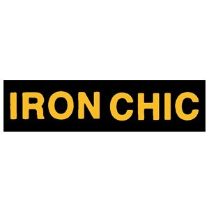 Iron Chic 'Yellow Logo' Sticker