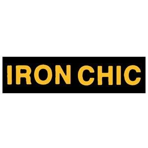 Iron Chic 'Yellow Logo' Sticker