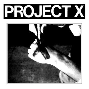 Project X 'Cover Art' Sticker