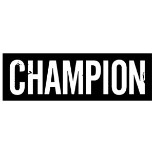 Champion 'Logo' Sticker