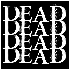 Dead Swans 'Repeating Logo' Sticker
