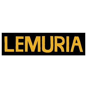 Buy Lemuria Yellow Logo Bumper Sticker At Bridge Nine