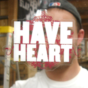 Have Heart 'Diecut Crest Logo' Sticker
