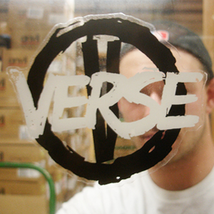 Verse 'Diecut Circle V Logo' Sticker