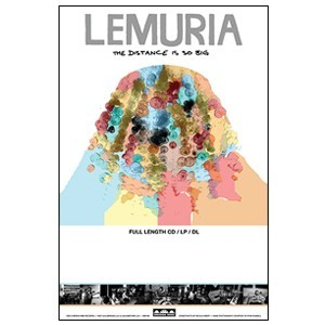 Lemuria 'The Distance Is So Big' Poster