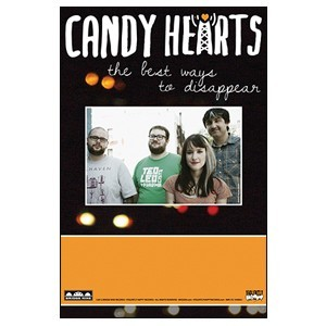 Candy Hearts 'The Best Ways To Disappear' Poster