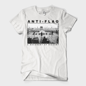 Anti-Flag - LIVE A Document of Dissent T-Shirt
