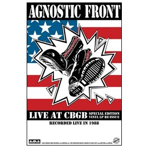 Agnostic Front 'Live at CBGB' Poster