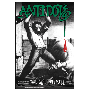 Antidote 'Thou Shalt Not Kill' Poster
