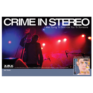 Crime In Stereo 'Trying...Live' Poster