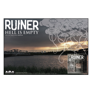 Ruiner 'Hell Is Empty' Poster