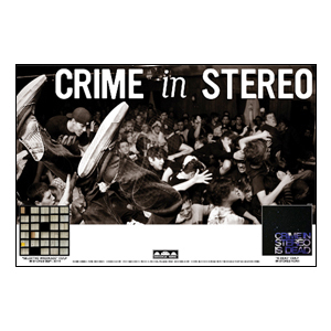Crime In Stereo 'Tour' Poster