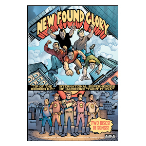 New Found Glory 'Tip of the Iceberg' Poster
