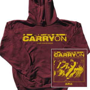 Carry On 'A Life Less Plagued' Pullover Hoodie Sweatshirt
