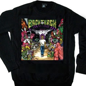 Backtrack 'Lost In Life' Crew Neck Sweatshirt