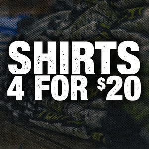 4 Shirts For $20