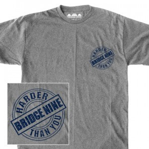 Bridge Nine 'In-Effect Tribute' Grey T-Shirt