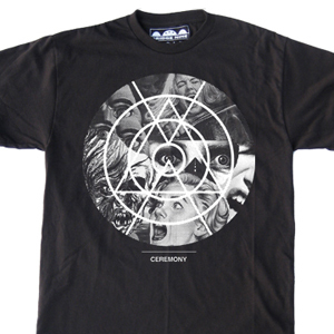 Ceremony 'Circle Horror' T-Shirt
