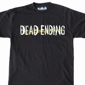 Dead Ending 'Scratched Logo' T-Shirt