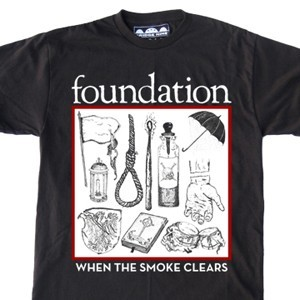 Foundation 'Smoke Clears Illustrations' T-Shirt