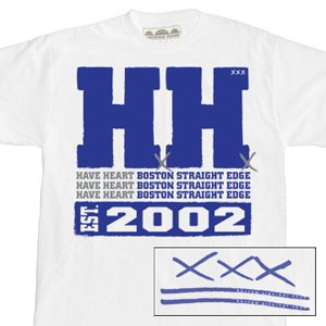 Have Heart 'Double H Established 2002' T-Shirt