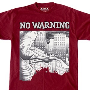 No Warning '7inch Cover' T-Shirt