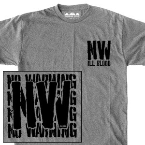 No Warning 'Ill Blood Stencil' T-Shirt