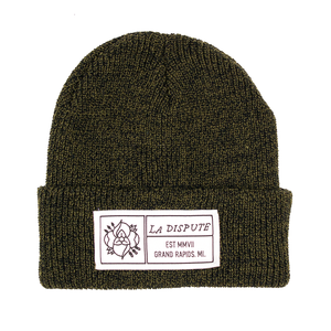 Patch Beanie - Antique Green