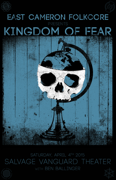 Salvage Vanguard Theater | Austin, TX - Saturday April 4th - Kingdom of Fear Release Show Closing Night IV