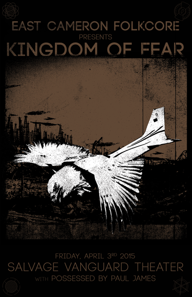 Salvage Vanguard Theater | Austin, TX - Friday April 3rd - Kingdom of Fear Release Show Night III