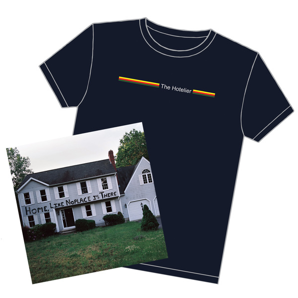 The Hotelier - Home, Like Noplace Is There LP/CD + Stripes Tee
