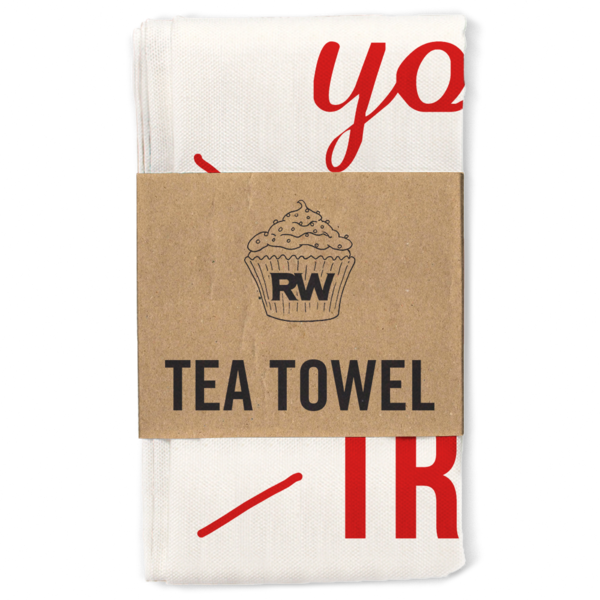 National Treasure Tea Towel