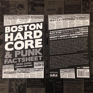 Bridge Nine 'Boston Hardcore & Punk Factsheet' (1999-2000)