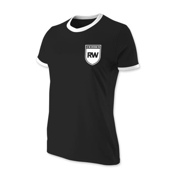 Black 'Williams' Football Top