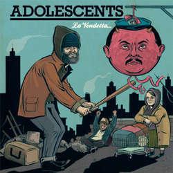 Adolescents - La Vendetta... LP (color)