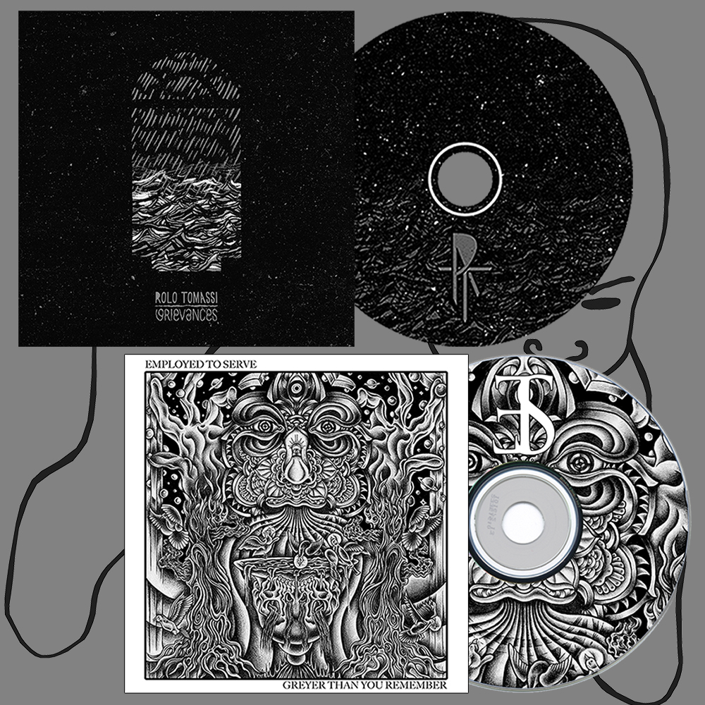 Rolo Tomassi 'Grievances' + Employed To Serve 'Greyer...' CD